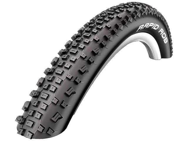 "SCHWALBE Rapid Rob Bike Tire 26"" KevlarGuard wire black"